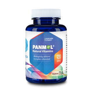 Hepatica Panmol® Natural Vitamins 500 mg 120 kapslí